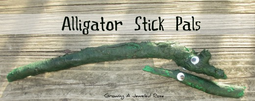 Alligator stick pals