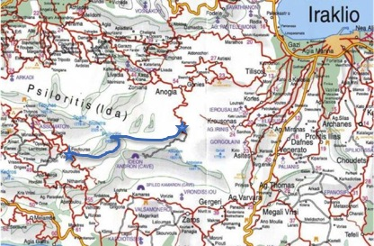 E4 A Mountain Walk Along The Spine Of Crete The E4 Trail Nidha