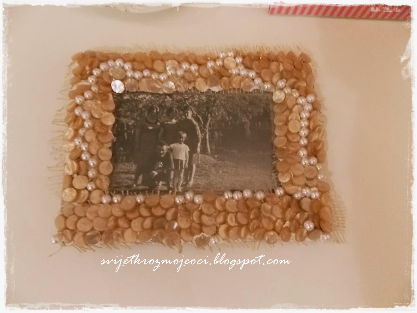 Svijet kroz moje oči - Vintage: Uradi sam okvir za slike