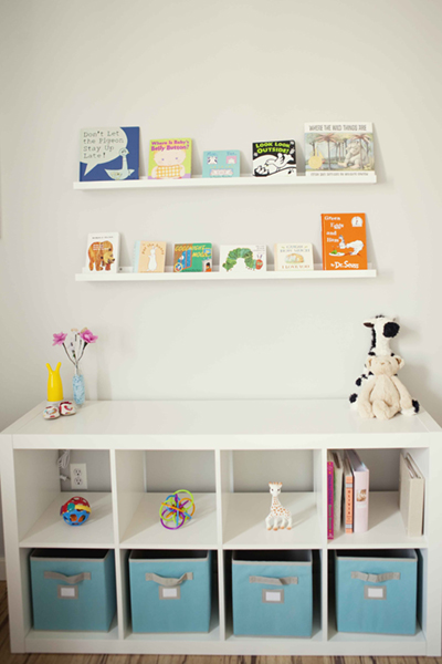 Decor me abril 2013 Estanterias infantiles ikea