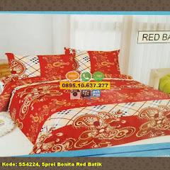 Harga Sprei Bonita Red Batik Jual