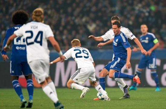 Dínamo Kiev 0 x 0 Chelsea - Champions League 2015/16
