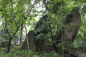 The rocks at Đá Chông