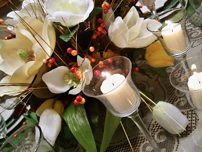 Magnolia tablescape@northmanspartyvamps.com