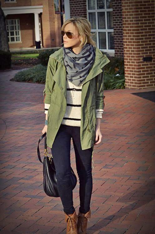 The Khaki Jacket. It Is A Style Staple03