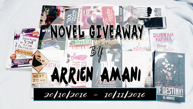 NOVEL GIVEAWAY BY ARRIEN AMANI
