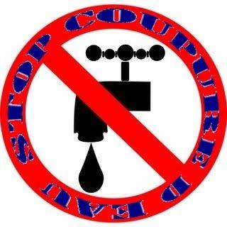 Stop Coupure d'eau