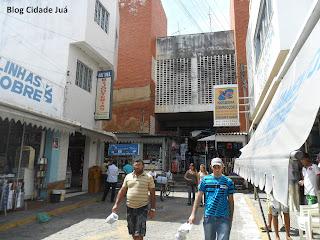 Principal entrada do Mercado Central.