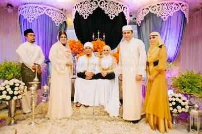 Gambar kahwin Syamsul Yusof & Puteri Sarah
