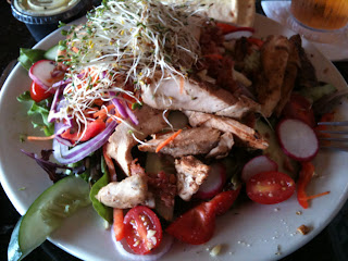 No Frill Bar and Grill dish: Funky Chicken Salad