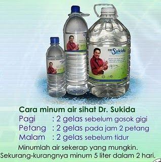 Cara Minum Air Sukida