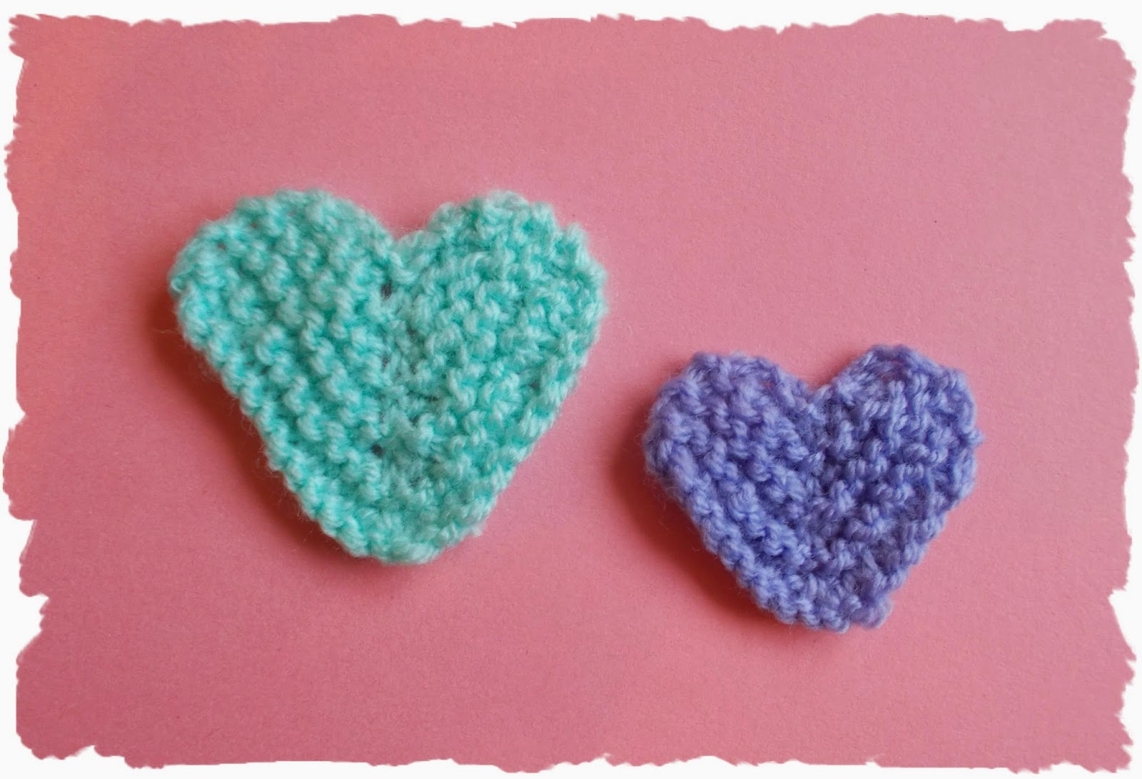 mariannas lazy daisy days: Mariannas Little Knitted Hearts