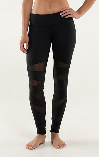 My Superficial Endeavors: Lululemon Tech Mesh Tight (Winner ...
