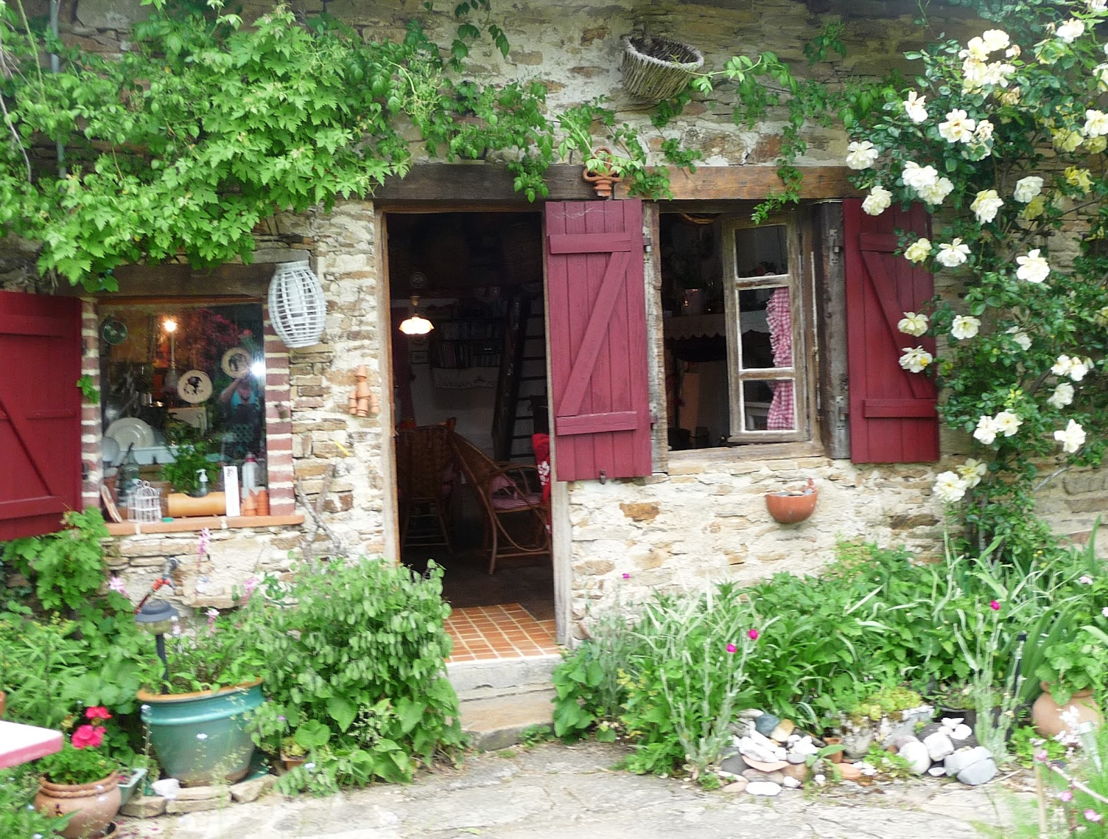 Delorme designs french country gardens and sherwin williams for French country cottages