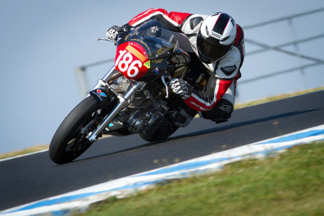 Irving Vincent Motorcycle Racing