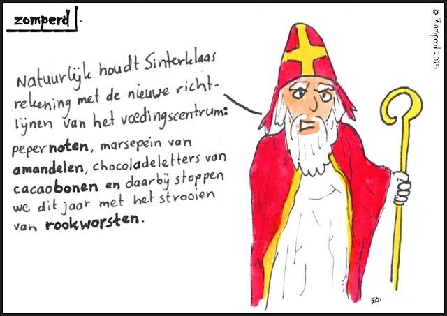 Zomperd - Sinterklaas en het Voedingscentrum