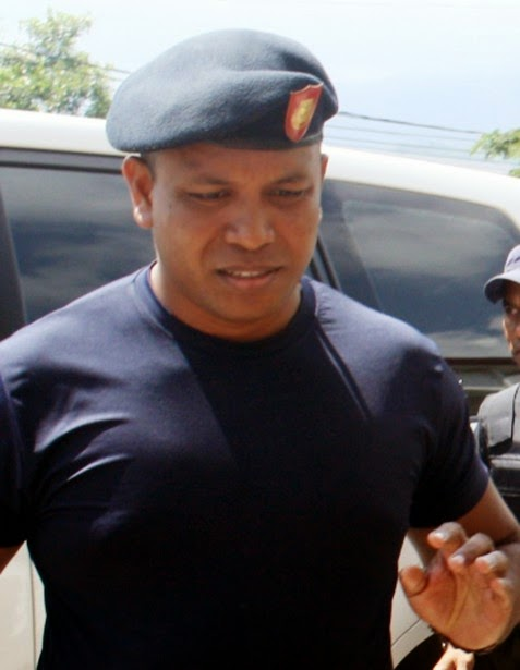 Komandante Polisia Nasional Timor Leste (PNTL) Distritu Dili