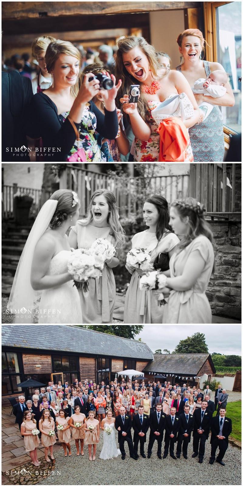 Old Corn Barn Devon wedding