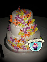 Butterfly Wedding Cake