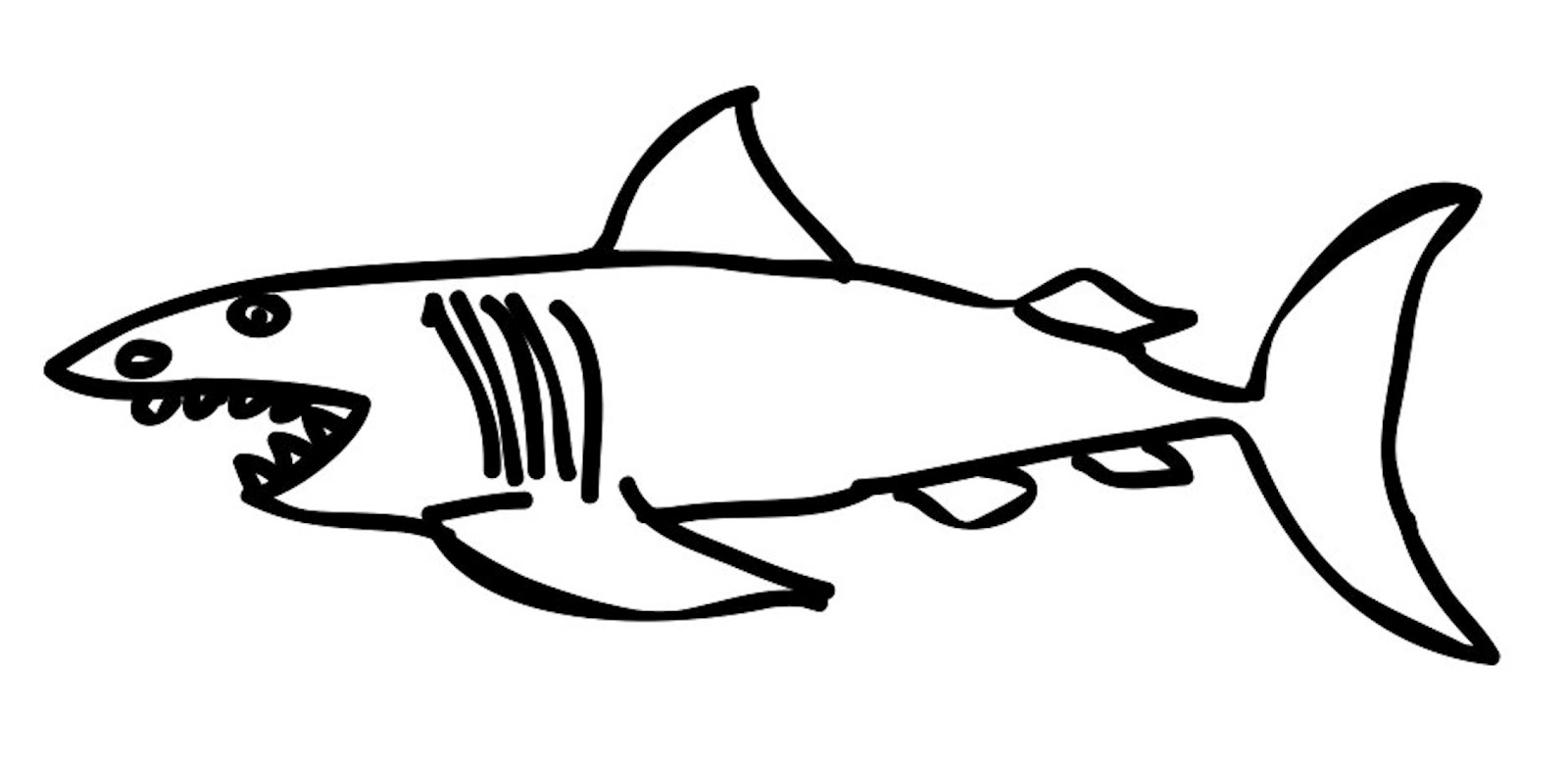 free coloring pages hammerhead shark coloring pages to print