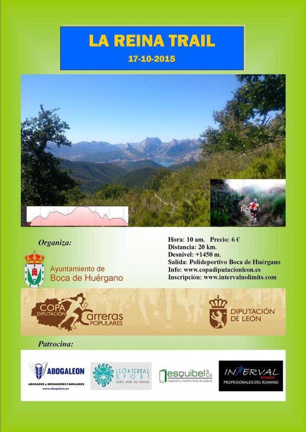 La Reina Trail, en León. /TRAILCYL