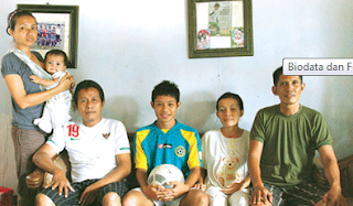 keluarga Evan Dimas