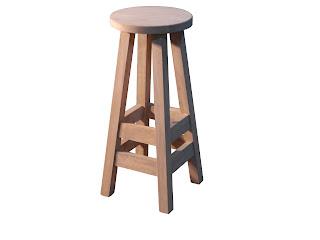 Mesas y sillas retro mobiliario vintage de estilo for Sillas tipo bar en madera