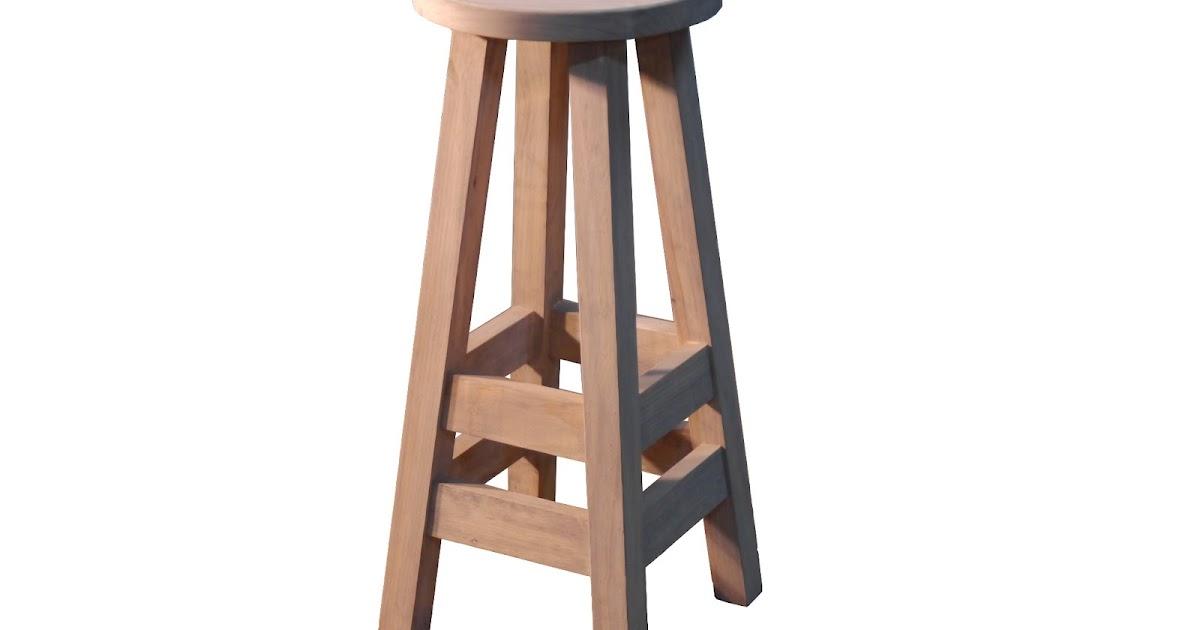 Mesas y sillas retro mobiliario vintage de estilo - Taburetes de madera rusticos ...