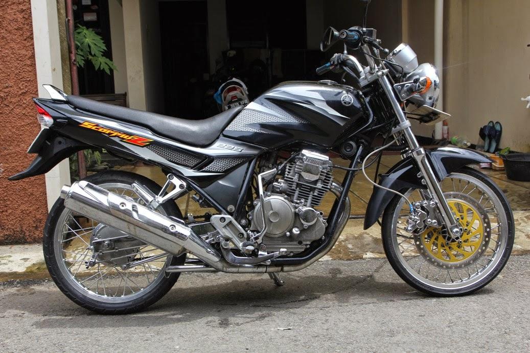 Kumpulan modifikasi motor yahama scorpio terbaru modifikasi motor yahama scorpio z ring 17