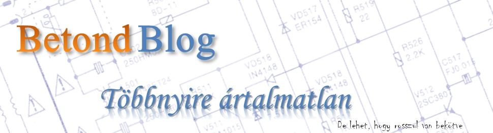 Betond blogja