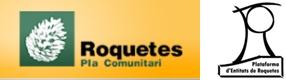 ✔  Què és el pla comunitari de roquetes? Què és la plataforma d'entitats de roquetes