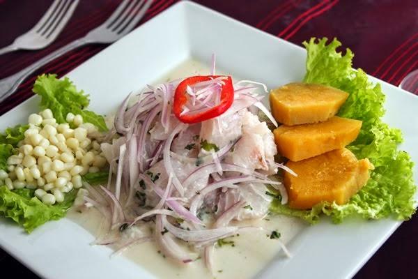 receta ceviche de pescado