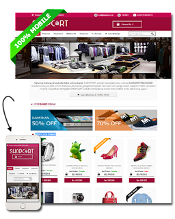 SHOPCART Blogger Template