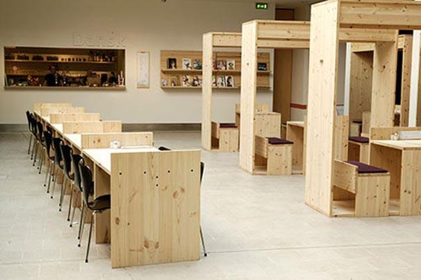 Natural Tone on Cafe interior Design