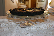 Chocolate Banana Pudding Tart