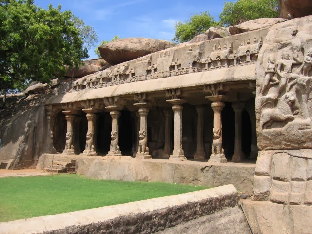 Mahabalipuram's cave