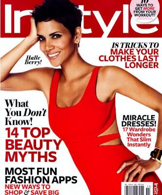 Halle Berry on Cover of Instyle Magazine