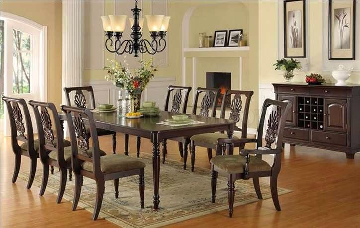 desain ruang makan klasik