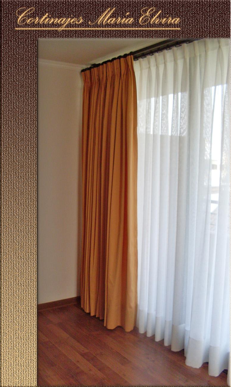 Cortinajes mar a elvira cortinas de gasa - Cortinas de gasa ...