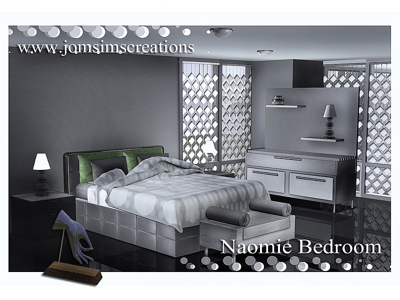 Naomie Bedroom Set by JomSims