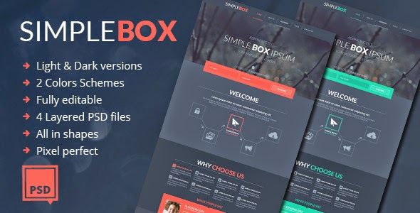 Multipurpose Psd Theme