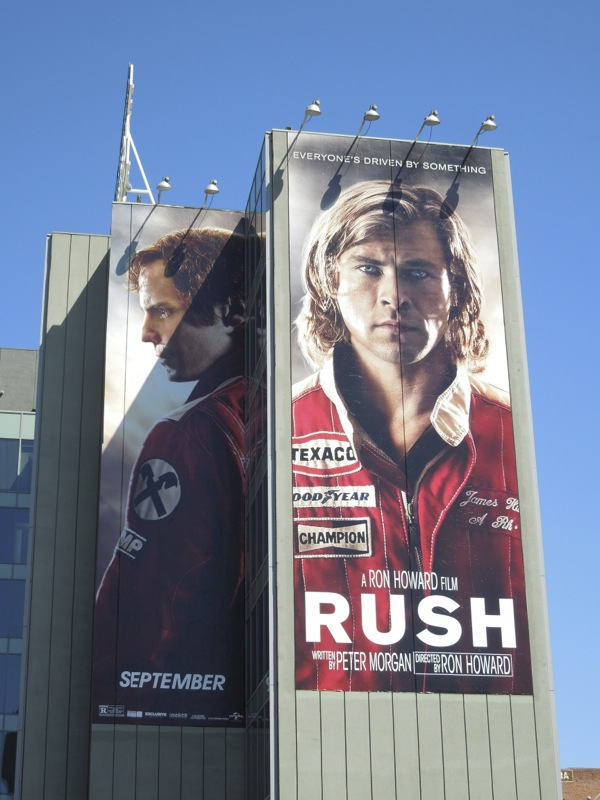 Giant Rush movie billboard