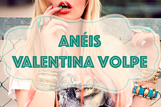 Anéis, Valentina Volpe, Semi Joias