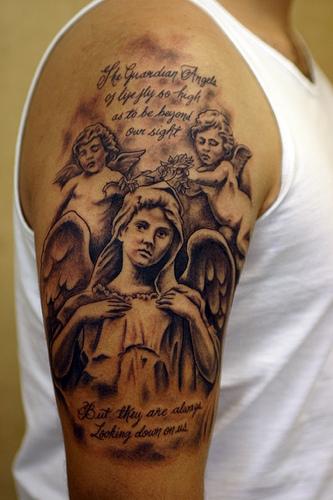 Baby Angel Tattoo Designs .....