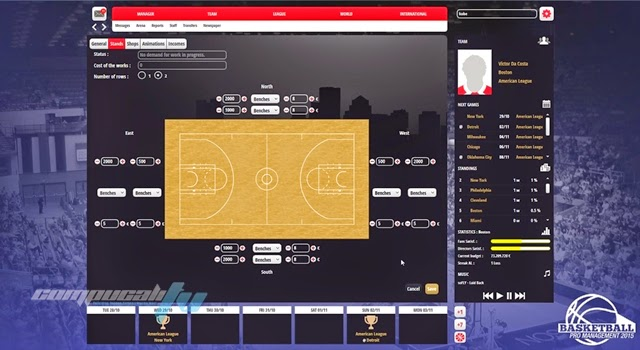 Basketball Pro Management 2015 PC Full Español