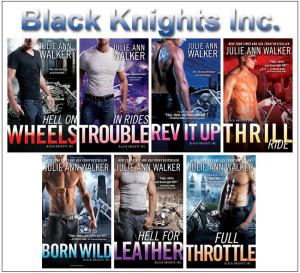 Black Knights Inc: Too Hard to Handle 8 by Julie Ann Walker (2015, Paperback)