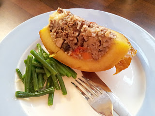 Halloween recipe, Pumpkin recipe, Stuffed Pumpkin