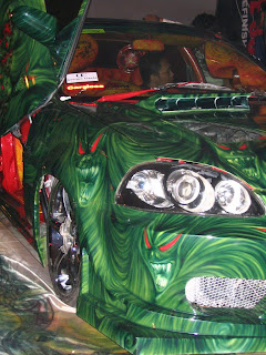 car modif paint contest