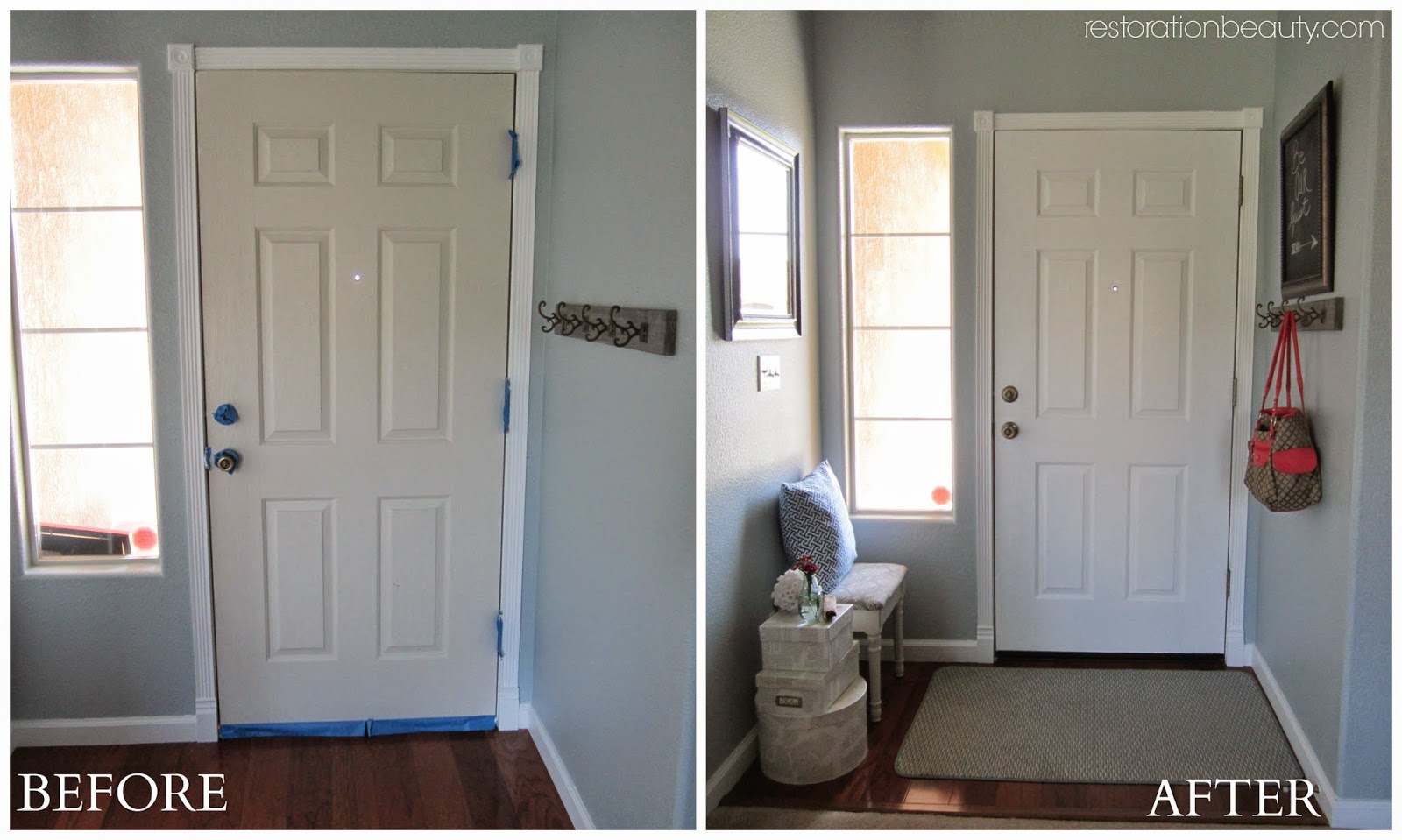 I Got Very Excited After I Painted Our Baseboards And Door Trim And Could  See The Difference In The Whites.