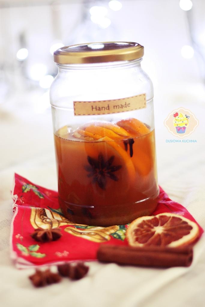 likier świąteczny pomarańczowy, likier na święta, korzenny likier, przepis na likier, likier święta